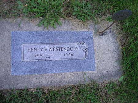 WESTENDORF, HENRY F - Bremer County, Iowa | HENRY F WESTENDORF