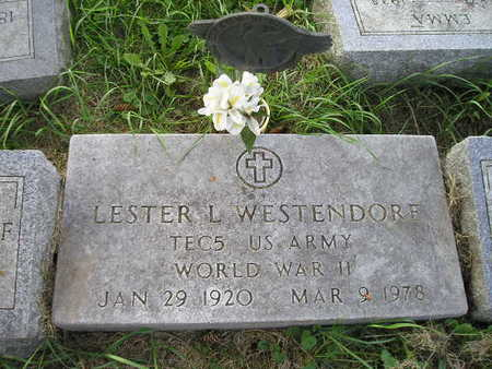 WESTENDORF, LESTER L - Bremer County, Iowa | LESTER L WESTENDORF