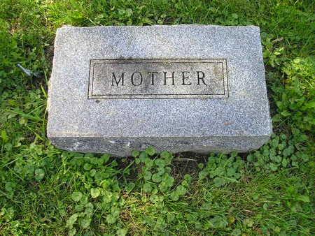 WESTENDORF, MOTHER (EMELIA) - Bremer County, Iowa | MOTHER (EMELIA) WESTENDORF