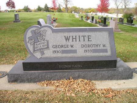 WHITE, GEORGE W - Bremer County, Iowa | GEORGE W WHITE