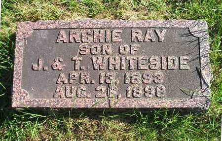 WHITESIDE, ARCHIE RAY - Bremer County, Iowa | ARCHIE RAY WHITESIDE