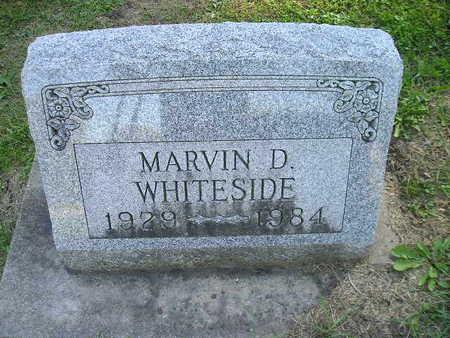 WHITESIDE, MARVIN D - Bremer County, Iowa | MARVIN D WHITESIDE