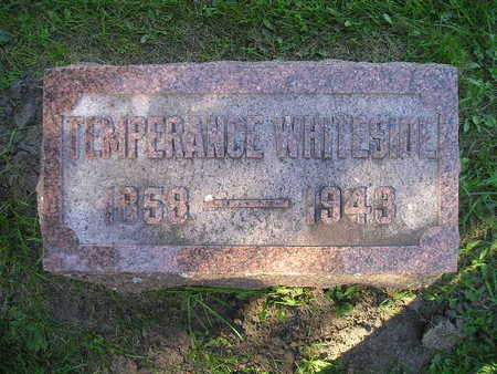WHITESIDE, TEMPERANCE - Bremer County, Iowa | TEMPERANCE WHITESIDE