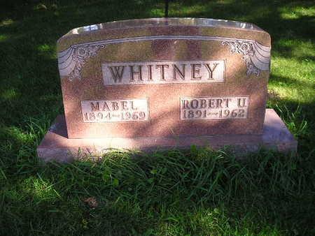 WHITNEY, MABEL - Bremer County, Iowa | MABEL WHITNEY