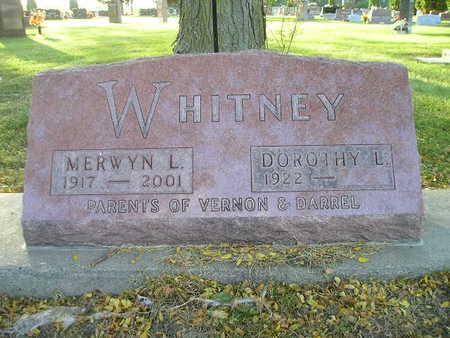WHITNEY, MERWYN L - Bremer County, Iowa | MERWYN L WHITNEY