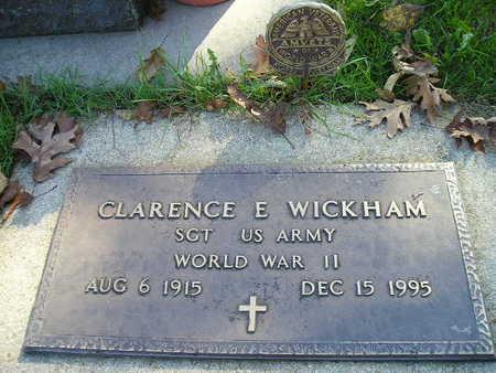 WICKHAM, CLARENCE E - Bremer County, Iowa | CLARENCE E WICKHAM