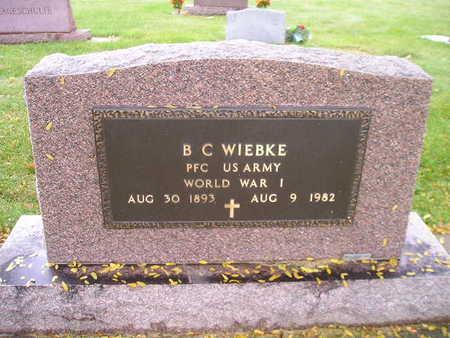 WIEBKE, B C - Bremer County, Iowa | B C WIEBKE