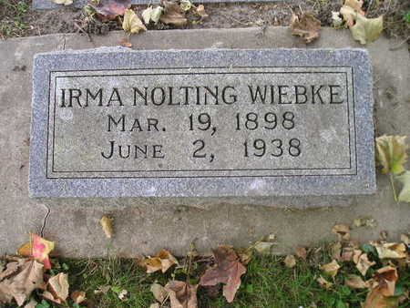 NOLTING WIEBKE, IRMA - Bremer County, Iowa | IRMA NOLTING WIEBKE
