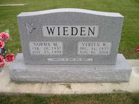 WIEDEN, VERLYN W - Bremer County, Iowa | VERLYN W WIEDEN