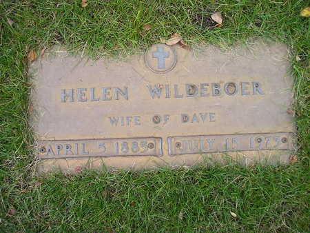 WILDEBOER, HELEN - Bremer County, Iowa | HELEN WILDEBOER