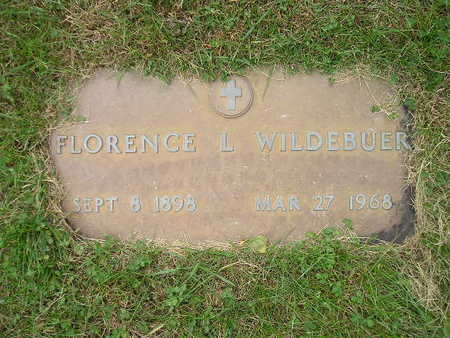 WILDEBUER, FLORENCE L - Bremer County, Iowa | FLORENCE L WILDEBUER
