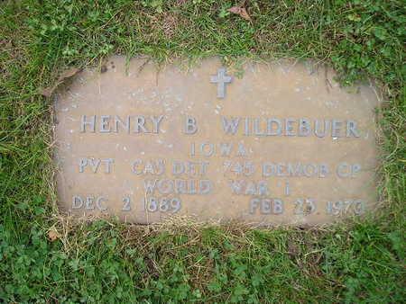 WILDEBUER, HENRY B - Bremer County, Iowa | HENRY B WILDEBUER
