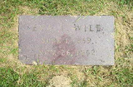 WILE, EVA - Bremer County, Iowa | EVA WILE