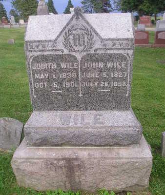 WILE, JUDITH - Bremer County, Iowa | JUDITH WILE