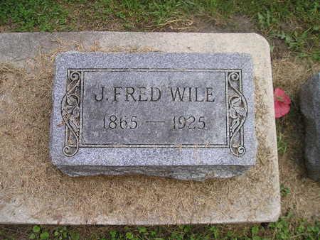 WILE, J FRED - Bremer County, Iowa   J FRED WILE