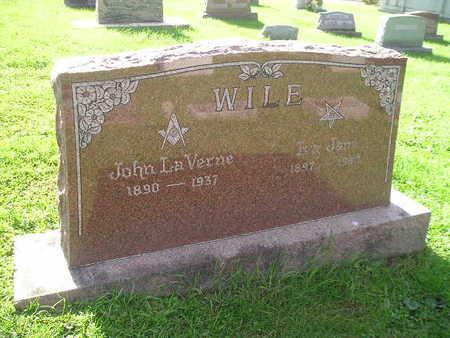 WILE, IVA JANE - Bremer County, Iowa | IVA JANE WILE