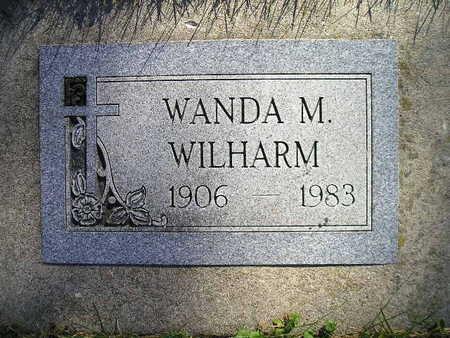 WILHARM, WANDA M - Bremer County, Iowa | WANDA M WILHARM