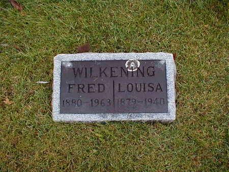 WILKENING, LOUISA - Bremer County, Iowa | LOUISA WILKENING