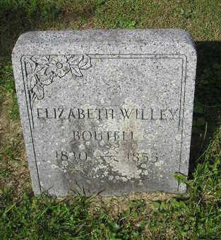 WILLEY, ELIZABETH - Bremer County, Iowa | ELIZABETH WILLEY