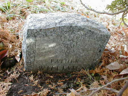 WILLIAM, FATHER - Bremer County, Iowa   FATHER WILLIAM