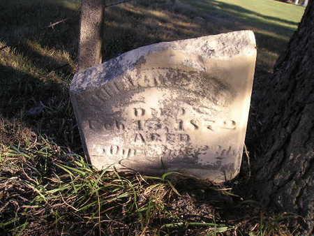 WILLIAMS, JOHN - Bremer County, Iowa | JOHN WILLIAMS