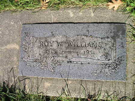 WILLIAMS, ROY W - Bremer County, Iowa | ROY W WILLIAMS