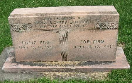 WILLMAN, LILLIE ANN - Bremer County, Iowa   LILLIE ANN WILLMAN