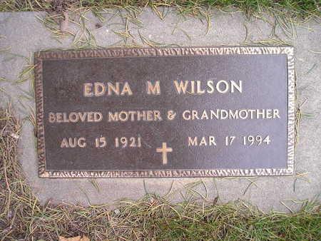 WILSON, EDNA M - Bremer County, Iowa | EDNA M WILSON
