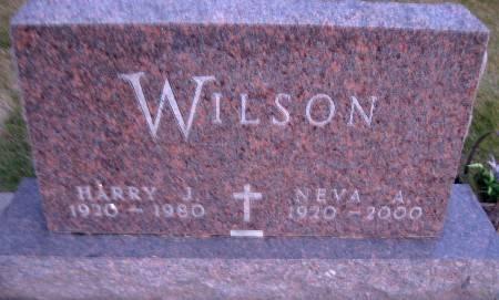 WILSON, NEVA A - Bremer County, Iowa | NEVA A WILSON
