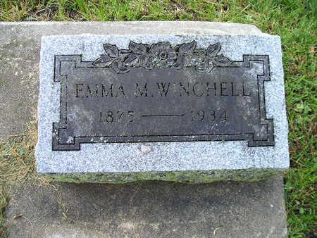 WINCHELL, EMMA M - Bremer County, Iowa | EMMA M WINCHELL