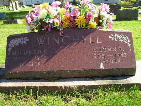 WINCHELL, MILDRED F - Bremer County, Iowa | MILDRED F WINCHELL