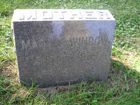 WINDOW, MARY J - Bremer County, Iowa | MARY J WINDOW