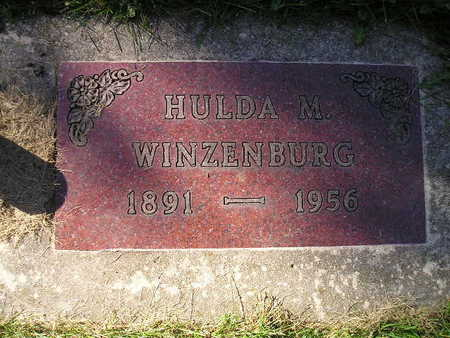 WINZENBURG, HULDA M - Bremer County, Iowa | HULDA M WINZENBURG