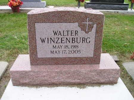 WINZENBURG, WALTER - Bremer County, Iowa | WALTER WINZENBURG