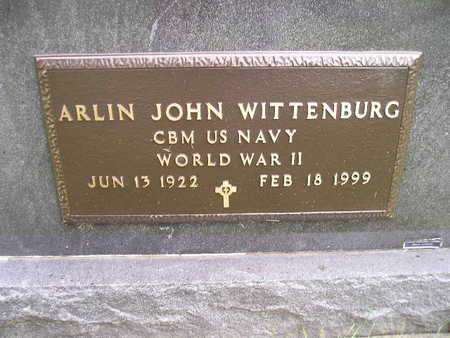 WITTENBURG, ARLIN JOHN - Bremer County, Iowa | ARLIN JOHN WITTENBURG