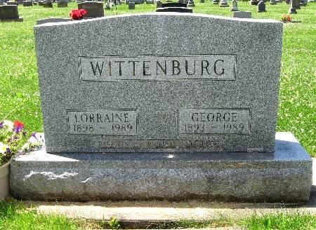 WITTENBURG, GEORGE - Bremer County, Iowa   GEORGE WITTENBURG