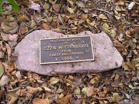 WITTENBURG, OZZIE - Bremer County, Iowa   OZZIE WITTENBURG