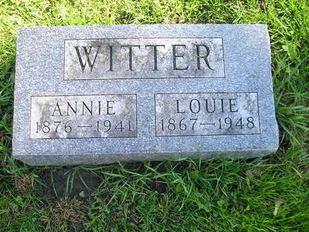 WITTER, LOUIE - Bremer County, Iowa | LOUIE WITTER