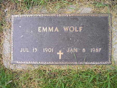 WOLF, EMMA - Bremer County, Iowa | EMMA WOLF