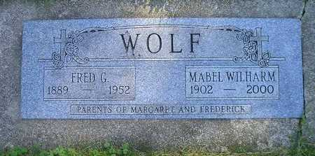 WOLF, MABEL - Bremer County, Iowa | MABEL WOLF
