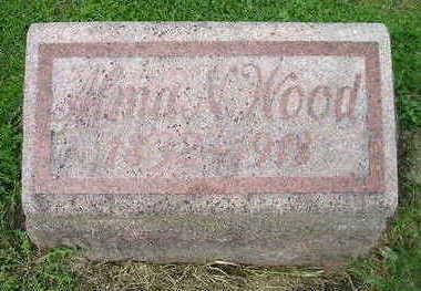 WOOD, ALMA N - Bremer County, Iowa   ALMA N WOOD