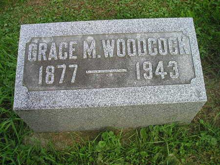 WOODCOCK, GRACE M - Bremer County, Iowa | GRACE M WOODCOCK