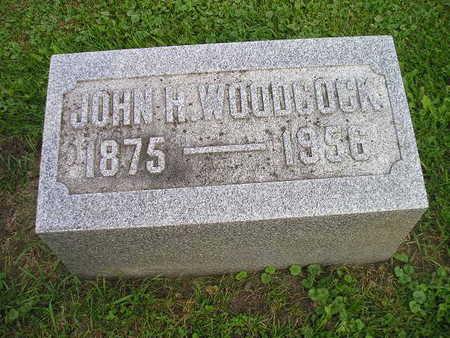 WOODCOCK, JOHN H - Bremer County, Iowa | JOHN H WOODCOCK