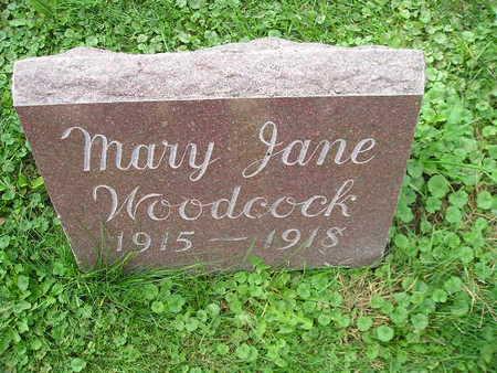 WOODCOCK, MARY JANE - Bremer County, Iowa | MARY JANE WOODCOCK