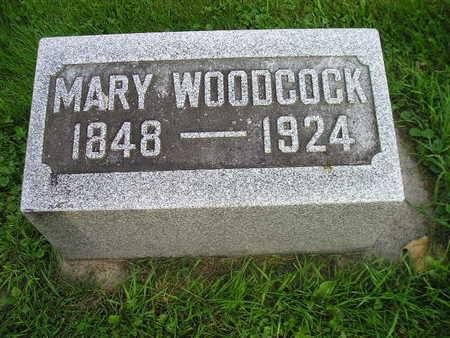 WOODCOCK, MARY - Bremer County, Iowa | MARY WOODCOCK