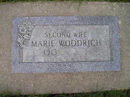 WOODRICH, MARIE - Bremer County, Iowa | MARIE WOODRICH
