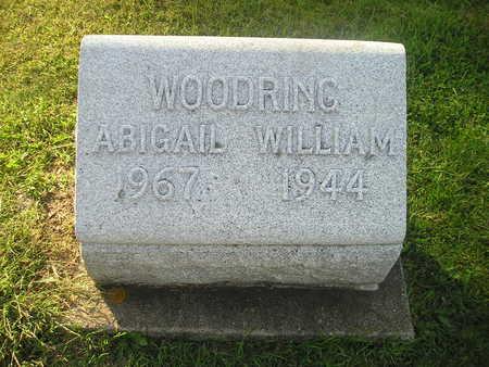WOODRING, ABIGAIL - Bremer County, Iowa   ABIGAIL WOODRING