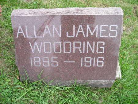 WOODRING, ALLAN JAMES - Bremer County, Iowa   ALLAN JAMES WOODRING