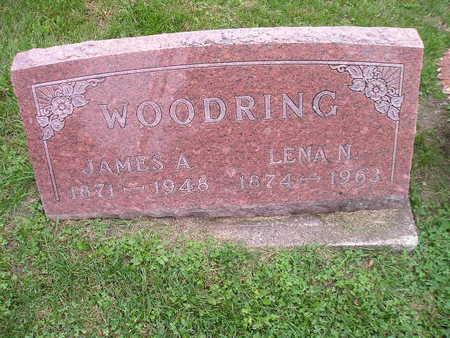 WOODRING, LENA N - Bremer County, Iowa | LENA N WOODRING