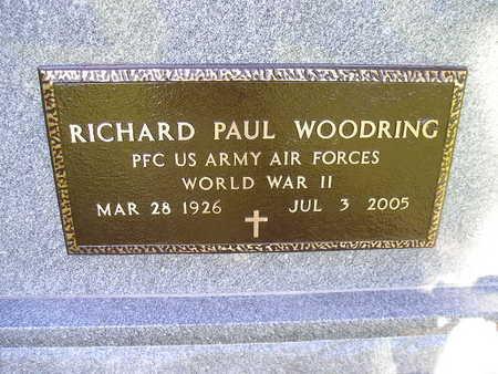 WOODRING, RICHARD PAUL - Bremer County, Iowa   RICHARD PAUL WOODRING